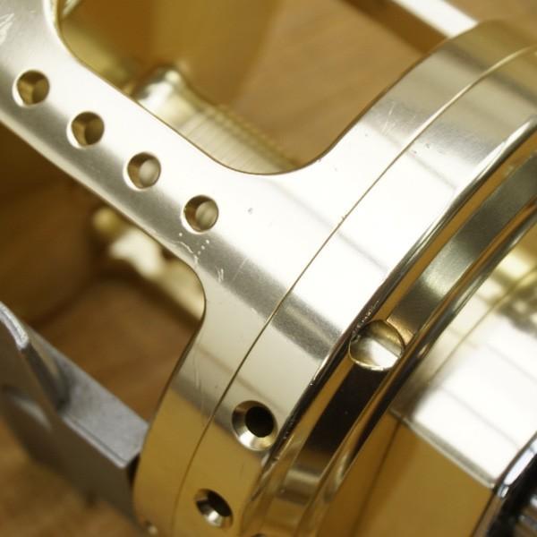 アリゲーター バトル 20 ゴールド 純正ハンドル付/S557M 美品 両軸リール|tsuriking|06