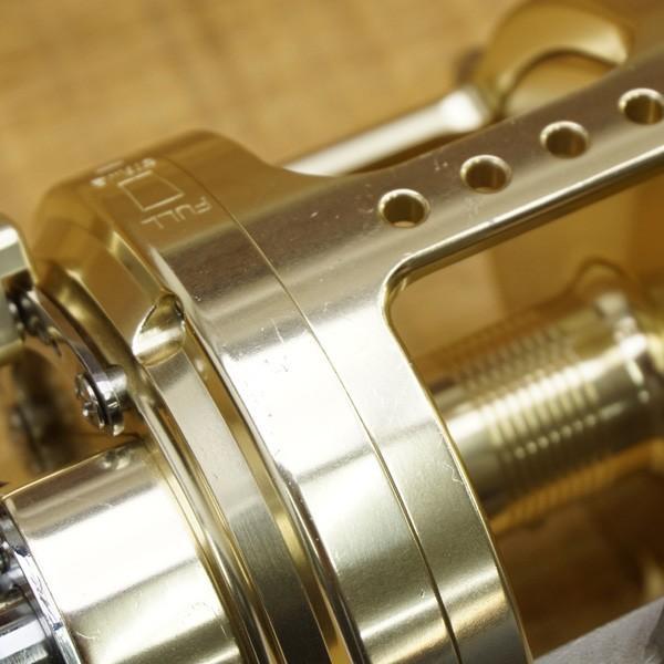 アリゲーター バトル 20 ゴールド 純正ハンドル付/S557M 美品 両軸リール|tsuriking|07