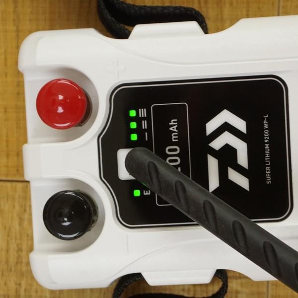 ダイワ スーパーリチウム  9200WP-L 充電器付き/T364M 電動リール バッテリー 美品|tsuriking|03