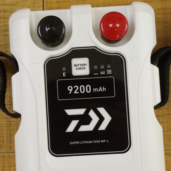 ダイワ スーパーリチウム  9200WP-L 充電器付き/T364M 電動リール バッテリー 美品|tsuriking|04