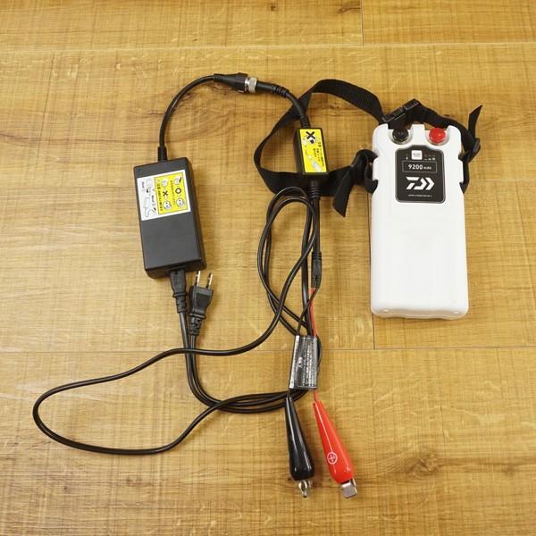 ダイワ スーパーリチウム  9200WP-L 充電器付き/T364M 電動リール バッテリー 美品|tsuriking|05