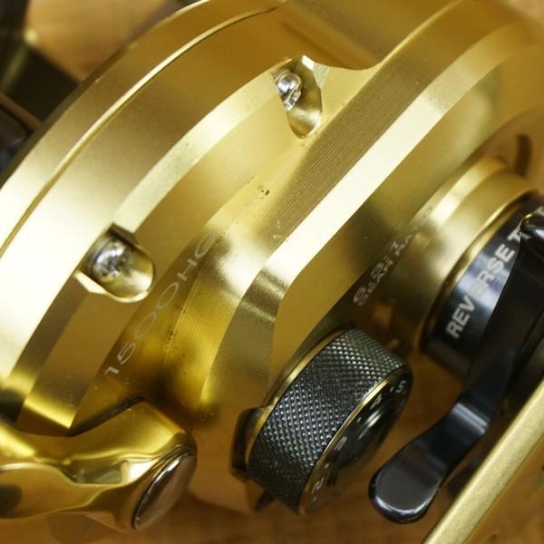 シマノ 14オシアジガー リミテッド 1500HG/T492M ジギングリール スロー 両軸 美品|tsuriking|08