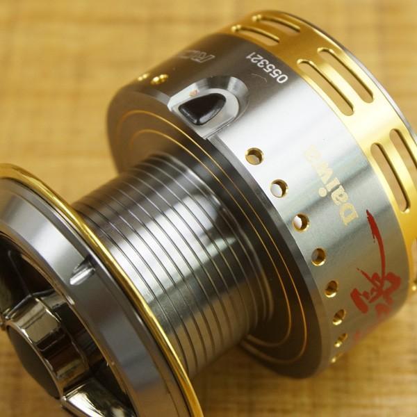 ダイワ RCS ISO 尾長スプール/ T520M フィッシング リールパーツ 替えスプール グレ ソルトウォーター 美品|tsuriking|07