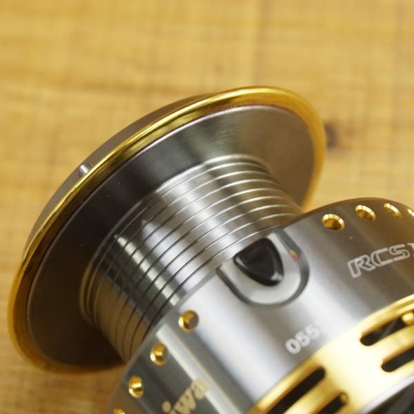 ダイワ RCS ISO 尾長スプール/ T520M フィッシング リールパーツ 替えスプール グレ ソルトウォーター 美品|tsuriking|08