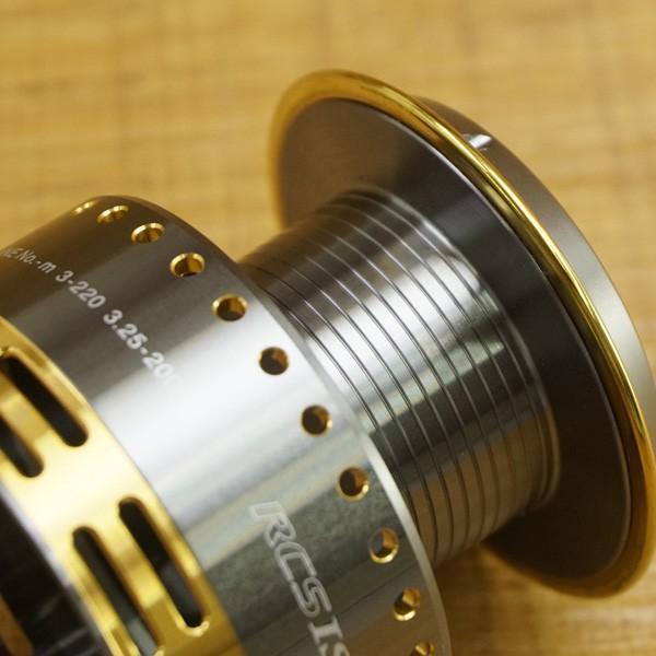 ダイワ RCS ISO 尾長スプール/ T520M フィッシング リールパーツ 替えスプール グレ ソルトウォーター 美品|tsuriking|09