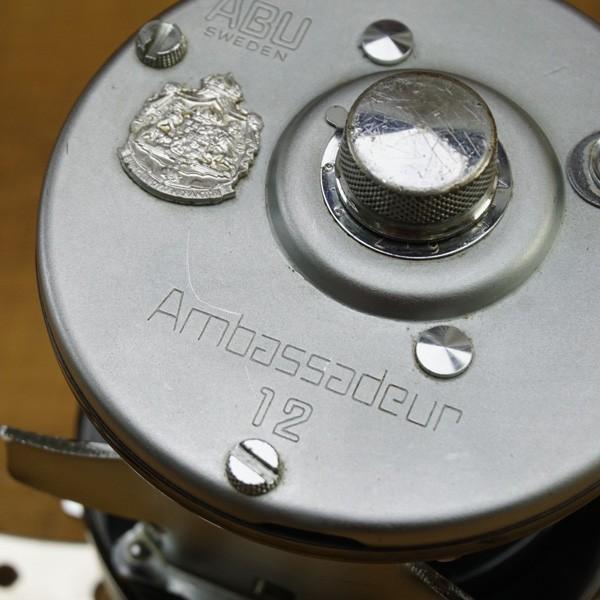 アブガルシア アンバサダー 12 800500 シノハラパワーハンドル付/ T534M ベイトリール フィッシング 美品|tsuriking|03