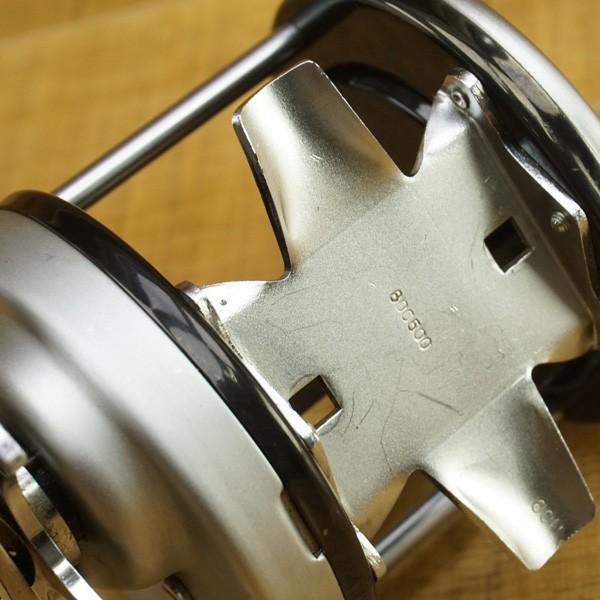 アブガルシア アンバサダー 12 800500 シノハラパワーハンドル付/ T534M ベイトリール フィッシング 美品|tsuriking|09