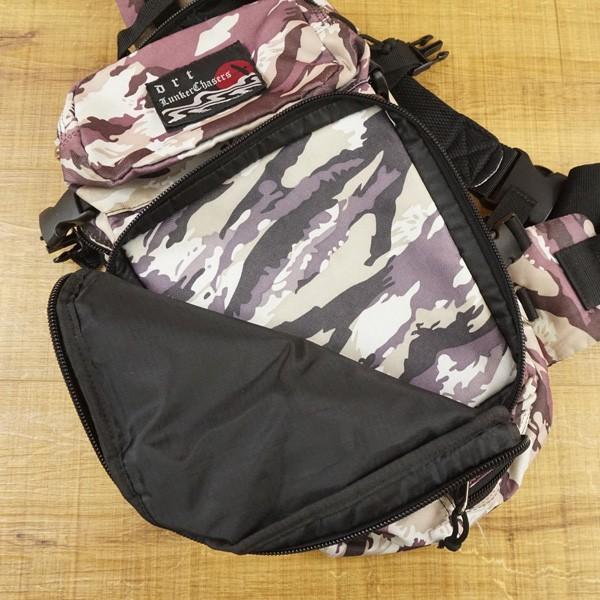 DRT ゲームパック ホワイトカモ/U080M バックパック フィッシングバッグ|tsuriking|05