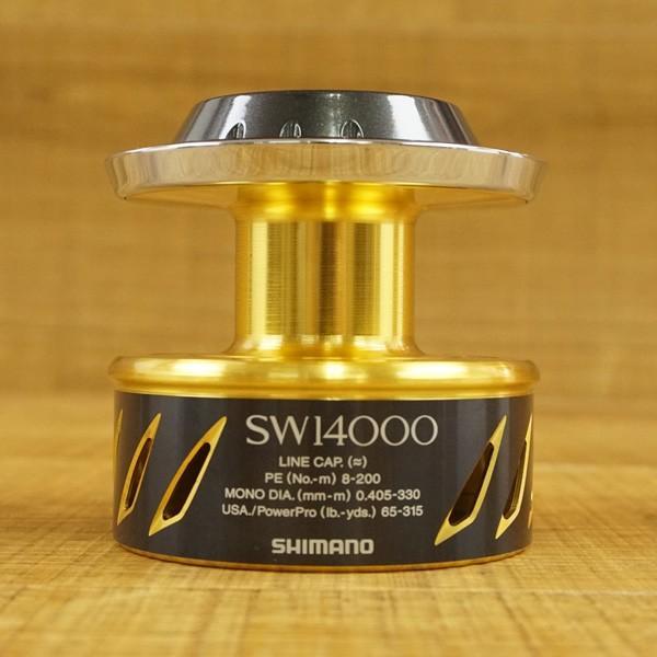 シマノ 13ステラSW 14000スプール /U083M 極上美品 スピニングリールパーツ|tsuriking|02