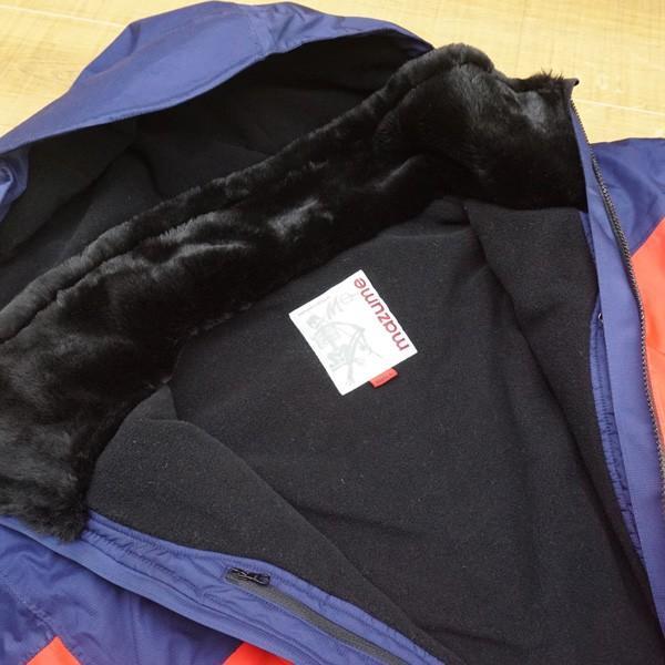 マズメ オールウェザースーツ MZFW-183 Lサイズ/ U105M 美品 防寒 レインウェア ジャンバー 上下セット フィッシング tsuriking 04