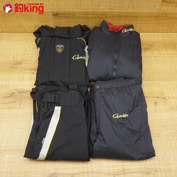 がまかつ ゴアテックス オールウェザースーツ GM−3288 Lサイズ/U114M 美品 フィッシングウェア tsuriking