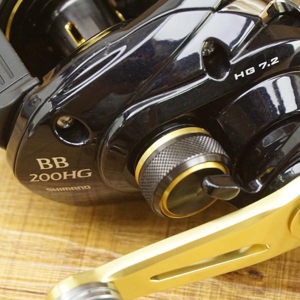 シマノ  16グラップラーBB 200HG/ U146M 美品 ライトジギング オフショア ベイトリール ソルトウォーター ルアー|tsuriking|08