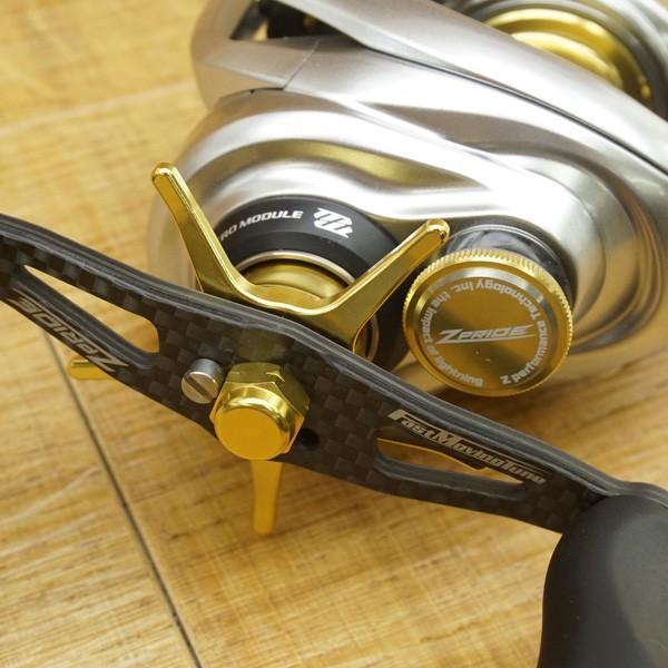 ZPI 17 Z-プライド 左 ゴールド/ U153M 未使用 ブラックバス ベイトリール ルアー 淡水|tsuriking|07