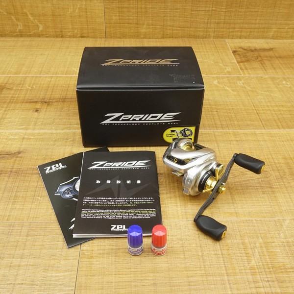 ZPI 17 Z-プライド 左 ゴールド/ U153M 未使用 ブラックバス ベイトリール ルアー 淡水|tsuriking|10