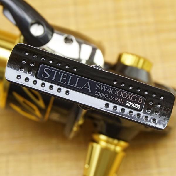 シマノ 13ステラSW 4000XG / U379M 美品 シーバス ブラックバス トラウト ソルトウォーター 淡水 スピニングリール|tsuriking|03