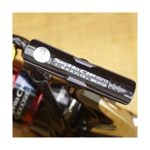 シマノ 17セフィアCI4+ C3000SHG/U555M 極上美品 スピニングリール|tsuriking|03