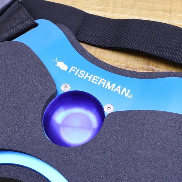フィッシャーマン ギンバル フラットハーネス/ X069M 未使用 ハーネス ベルト 保護 オフショア ソルトウォーター フィッシング|tsuriking|03