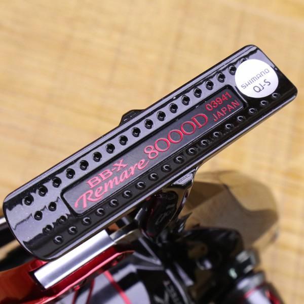 シマノ 18BB-X レマーレ 8000D/ X090M 極上美品 SHIMANO レバーブレーキ スピニングリール 磯 尾長 グレ ソルトウォーター フィッシング|tsuriking|03