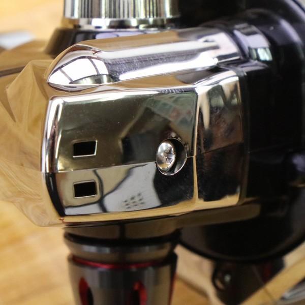 シマノ 18BB-X レマーレ 8000D/ X090M 極上美品 SHIMANO レバーブレーキ スピニングリール 磯 尾長 グレ ソルトウォーター フィッシング|tsuriking|07