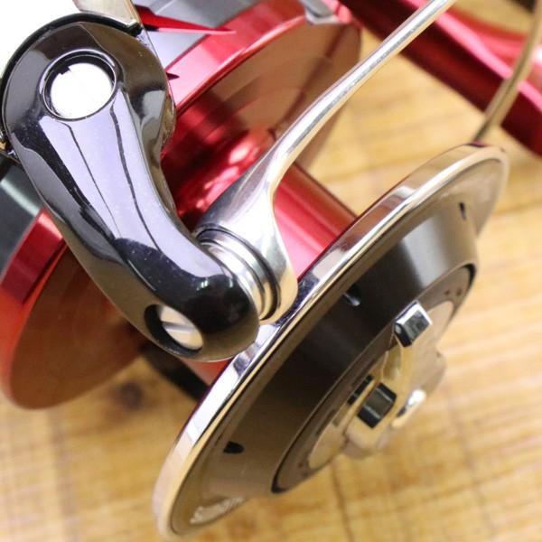 シマノ 18BB-X レマーレ 8000D/ X090M 極上美品 SHIMANO レバーブレーキ スピニングリール 磯 尾長 グレ ソルトウォーター フィッシング|tsuriking|08