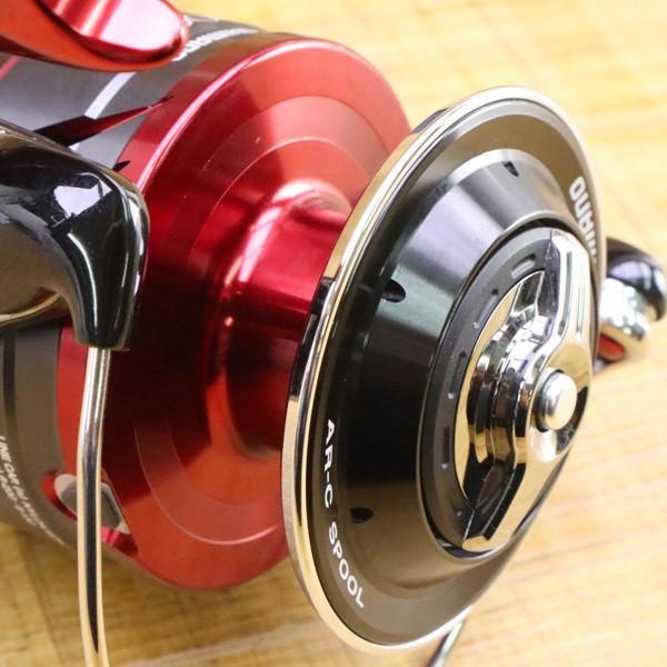 シマノ 18BB-X レマーレ 8000D/ X090M 極上美品 SHIMANO レバーブレーキ スピニングリール 磯 尾長 グレ ソルトウォーター フィッシング|tsuriking|09