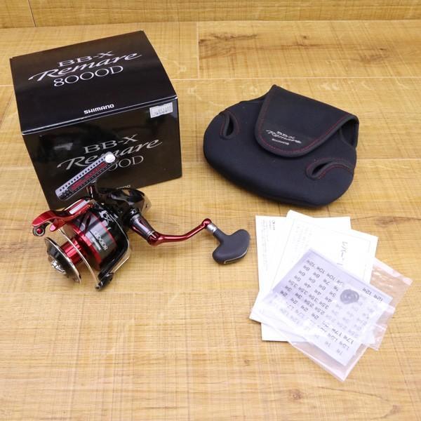 シマノ 18BB-X レマーレ 8000D/ X090M 極上美品 SHIMANO レバーブレーキ スピニングリール 磯 尾長 グレ ソルトウォーター フィッシング|tsuriking|10
