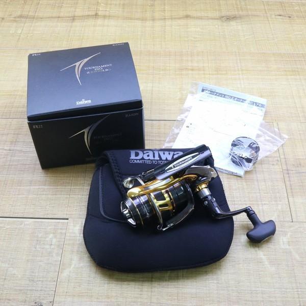ダイワ 09トーナメントISO Z 2500LBD/Z211M 未使用 DAIWA 釣り スピニングリール レバーブレーキ 尾長 グレ チヌ 磯 ソルト|tsuriking|10