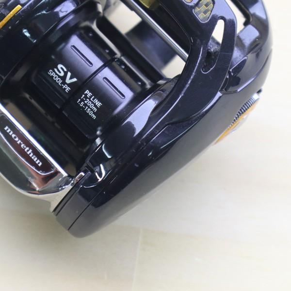ダイワ モアザン PE SV 8.1L-TW/Z276M 美品 DAIWA 釣り ベイトリール ジギング オフショア ソルト 青物 ルアー フィッシング|tsuriking|05