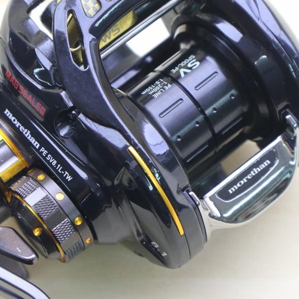 ダイワ モアザン PE SV 8.1L-TW/Z276M 美品 DAIWA 釣り ベイトリール ジギング オフショア ソルト 青物 ルアー フィッシング|tsuriking|06