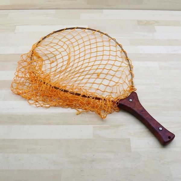 アングロ&カンパニー フォールディング ネット 花梨 オレンジ/B191M 未使用 釣り タモ 網 枠 柄 すくう ネット フィッシング|tsuriking|02