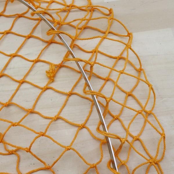 アングロ&カンパニー フォールディング ネット 花梨 オレンジ/B191M 未使用 釣り タモ 網 枠 柄 すくう ネット フィッシング|tsuriking|06