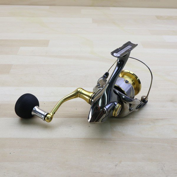 シマノ  14ステラ 4000XG 夢屋ラウンドEVAノブ付き/B468M 極上美品 SHIMANO 釣り スピニングリール ジギング キャスティング ショア オフショア 青物 ソルト|tsuriking|02
