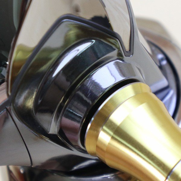 シマノ  14ステラ 4000XG 夢屋ラウンドEVAノブ付き/B468M 極上美品 SHIMANO 釣り スピニングリール ジギング キャスティング ショア オフショア 青物 ソルト|tsuriking|04