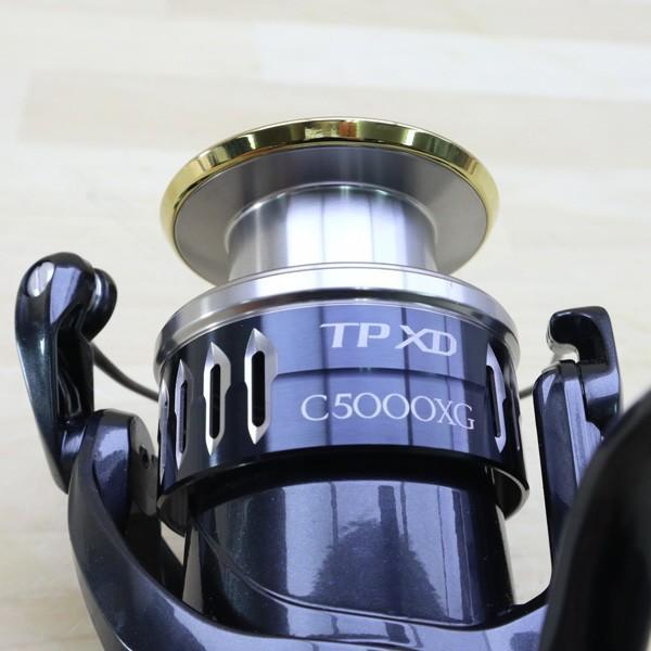 シマノ 17ツインパワーXD C5000XG/C216M 美品 SHIMANO 釣り スピニングリール ジギング キャスティング ショア オフショア 青物 ソルト|tsuriking|06