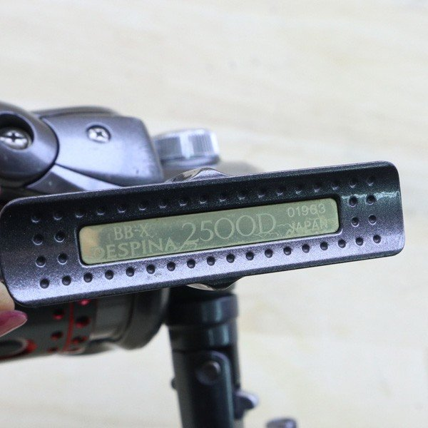 シマノ 05BB-X デスピナ 2500D BB-Xファイアブラッド 2500Dスプール付/C218M SHIMANO 釣り スピニングリール レバーブレーキ 尾長 グレ チヌ 磯 ソルト|tsuriking|03