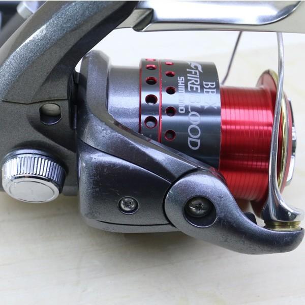 シマノ 05BB-X デスピナ 2500D BB-Xファイアブラッド 2500Dスプール付/C218M SHIMANO 釣り スピニングリール レバーブレーキ 尾長 グレ チヌ 磯 ソルト|tsuriking|06