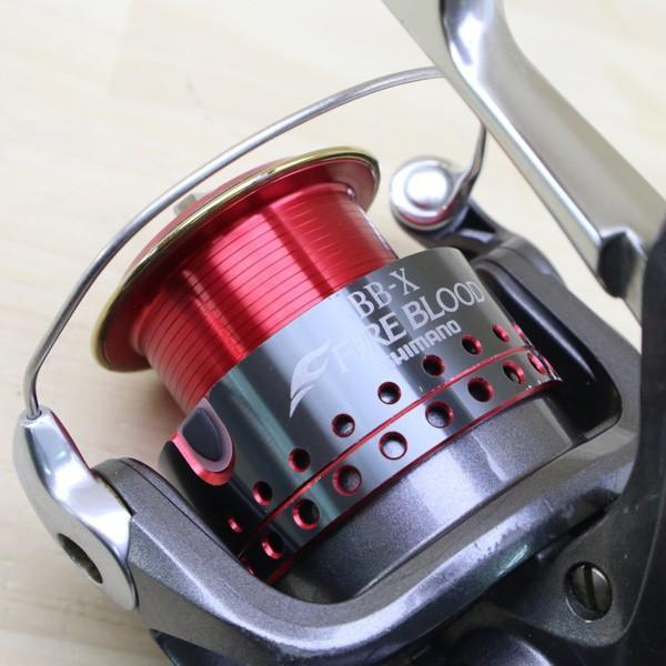 シマノ 05BB-X デスピナ 2500D BB-Xファイアブラッド 2500Dスプール付/C218M SHIMANO 釣り スピニングリール レバーブレーキ 尾長 グレ チヌ 磯 ソルト|tsuriking|07