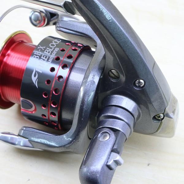シマノ 05BB-X デスピナ 2500D BB-Xファイアブラッド 2500Dスプール付/C218M SHIMANO 釣り スピニングリール レバーブレーキ 尾長 グレ チヌ 磯 ソルト|tsuriking|08