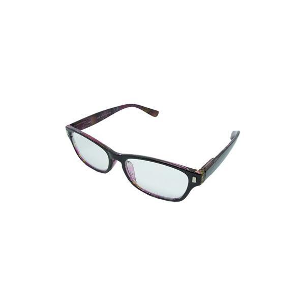 エール シニアグラス 老眼鏡 ポリカーボネイト AP127 2.0度 パープル (1個) 一般医療機器