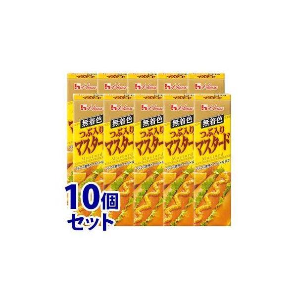 《セット販売》 ハウス食品 つぶ入りマスタード (40g)×10個セット スパイス ※軽減税率対象商品