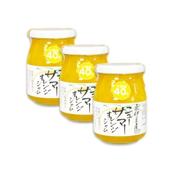 伊豆フェルメンテ 東伊豆産ニューサマーオレンジジャム 300g × 3本