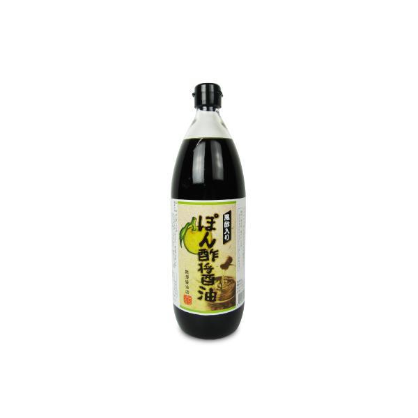 黒澤醤油店  黒酢入り ぽん酢醤油 1L