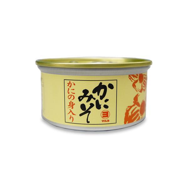 マルヨ食品 新かにの身入りかにみそ 缶詰 100g