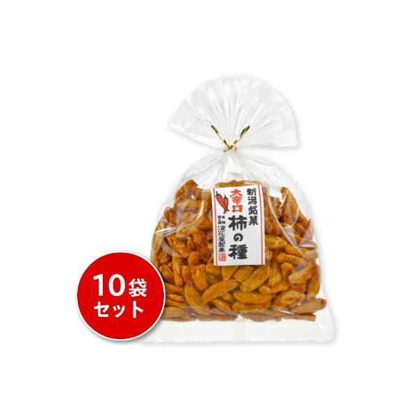 浪花屋製菓 大辛口柿の種 巾着 140g × 10袋