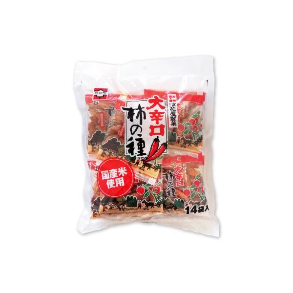 浪花屋製菓 大辛口柿の種 徳用袋 224g 16g×14袋入