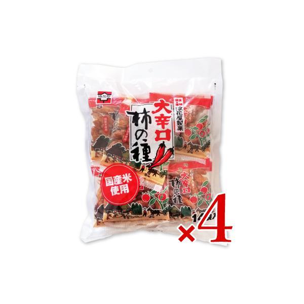 浪花屋製菓 大辛口柿の種 徳用袋 224g 16g×14袋入 × 4個