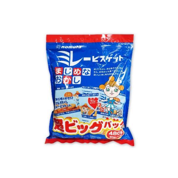 野村煎豆加工店 ミレービスケット 超ビッグパック 480g 30g×16袋