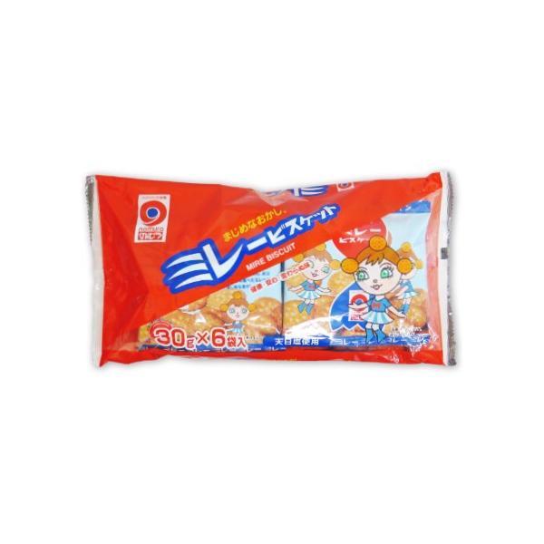 野村煎豆加工店 ミレービスケット 赤  30g×6袋 ポイント消化に