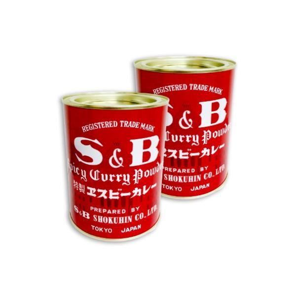 S&B 赤缶 カレー粉 400g × 2缶セット ヱスビー食品 S&Bスパイス