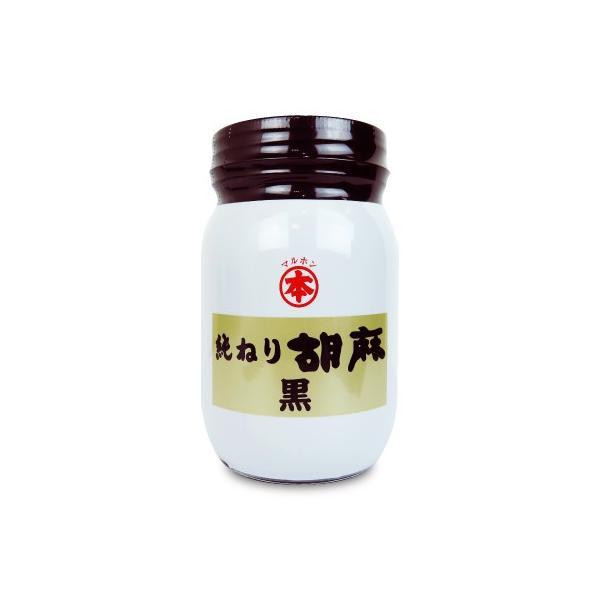 マルホン 純ねり胡麻  黒  450g 竹本油脂